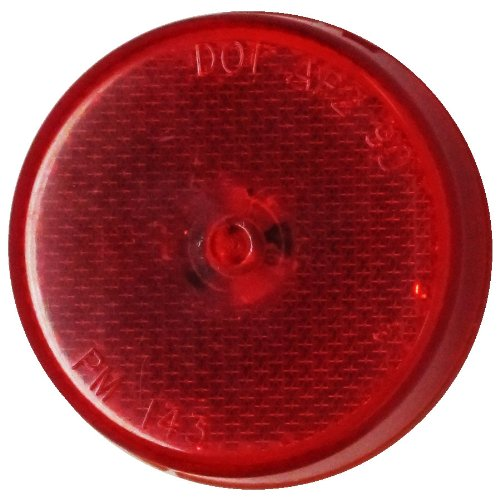 Peterson Manufacturing 2-1//2 LED Clearance and Side Marker Light with Reflex Function 173R