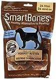SmartBones Rawhide Free Mini Dog Chews Peanut Butter
