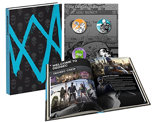 Price comparison product image Watch Dogs 2: Prima Collector's Edition Guide