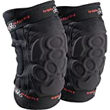 Triple Eight ExoSkin Knee Pad (Black, Large)