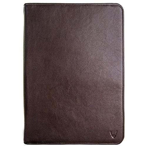 HIDESIGN IMG iPad Leather Portfolio/Padfolio, Brown