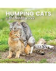 Humping Cats Calendar 2022: Funny Cat Lover or Owner Gifts for Men Women Adults Gag Ideas, Vet Tech, Secret Santa, Joke, Birthday or Christmas Present
