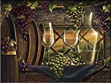 Ceramic Tile Mural - Evening in Tuscany- by Janet Stever - Kitchen backsplash / Bathroom shower