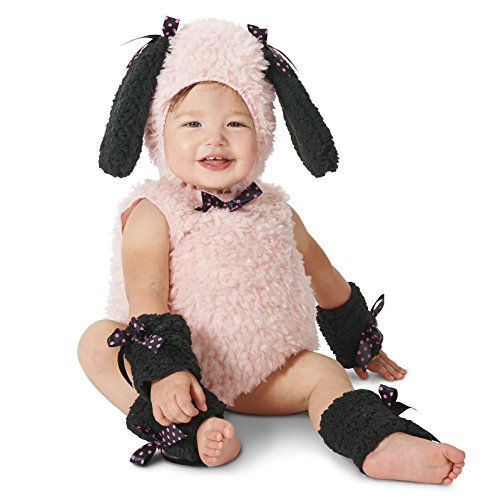 [Chic Puppy Toddler Dress Up Costume 2-4T] (Puppy Dog Baby Costume)