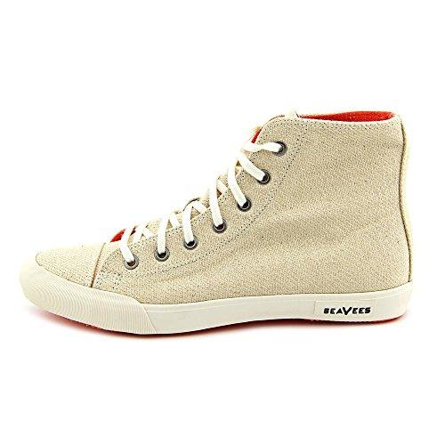 SeaVees Women's 08/61 Army Issue High Hemp Fashion Sneaker,Natural,8.5 M US