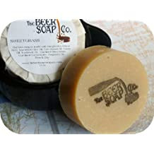 Sweetgrass Beer Soap Made with Hoegaarden White Ale by The Beer Soap Company