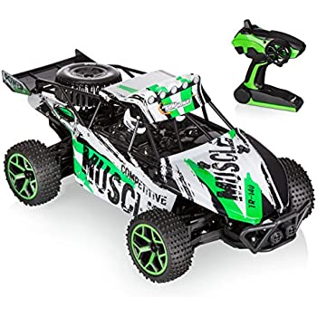 Top Race Remote Control Monster Truck 4WD RC Car, 2.4Ghz (TR-140)