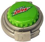 Jokari 18303P1 1 Count Mountain Dew Modern Logo Fizz Keeper Soda Can Pump and Pour, Green