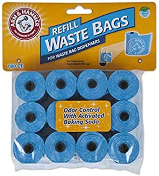 180-Pack Petmate Arm & Hammer Disposable Waste Bag Refills
