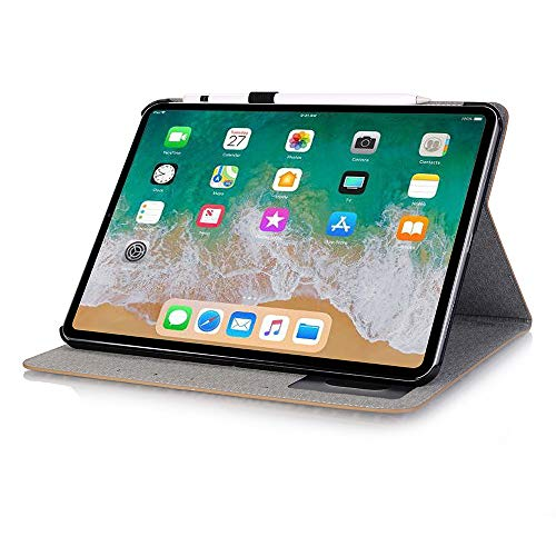 INorton Pro 11 Case with Card Slot, Stand Protective Cover Premium PU Leather,Lightweight Slim Shockproof Sleeve Compatible with iPad Pro 11 by INorton (Image #4)