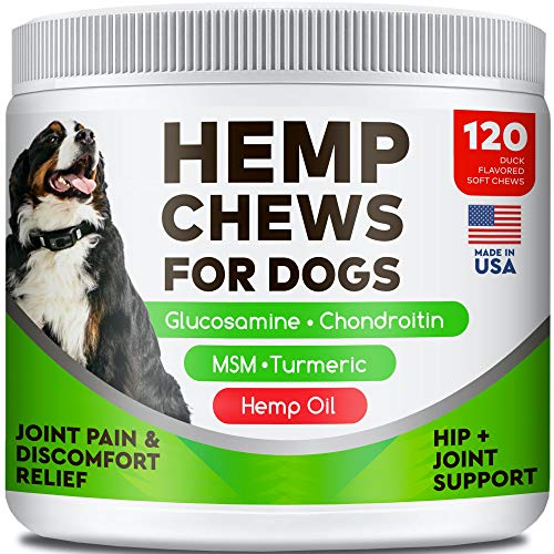 All-Natural Hemp Chews Glucosamine