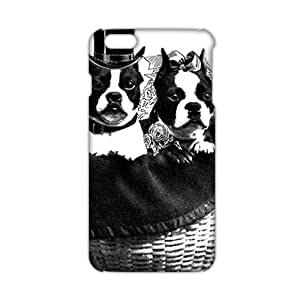 Cute gentle dog 3D Phone Case for iPhone 6 plus
