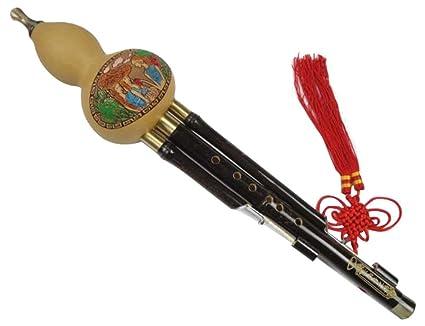 amazon com bamboo 3 octaves chinese hulusi flute woodwind 105 rh amazon com Indian Bamboo Flute Bansuri Sound of Bamboo Flute