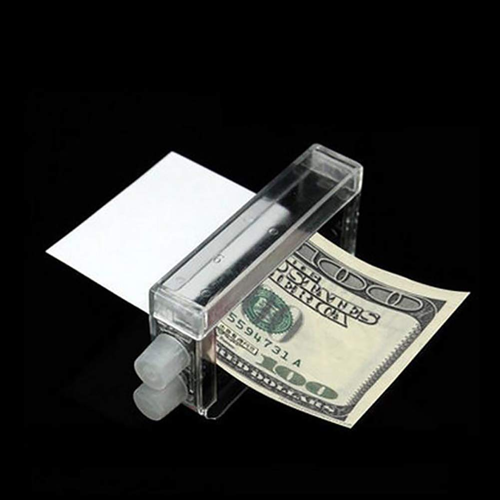 xxiaoTHAWxe Close-Up Magic Prop Trick Dollar Money Printer Maker Bill Printing Machine Tool
