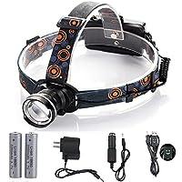 900-Lumen Ultra Bright Lightweight Led Headlamp Headlight