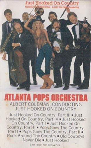 Atlanta Pops Orchestra: Just Hooked on Country Cassette Tape