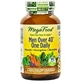 MegaFood - Men Over 40 One Daily, Promotes Immune Health & Well-being, 90 Tablets (FFP)