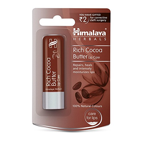 Himalaya Products/Himalaya India -Himalaya Healthcare Herbals Himalaya Ayurvedic Rich Cocoa Butter Lip Care, 4.5g