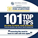 101 Top Tips on How to Grow Your Business Through Referral and Word of Mouth Marketing Audiobook by Barry Allaway Narrated by John Brown, Sarah Brown