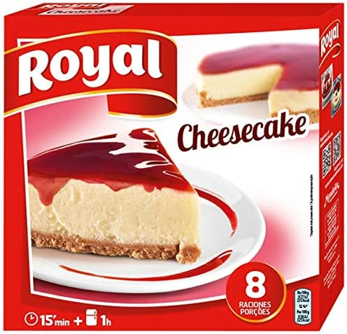 Postre Pastel de Queso Royal 325gr: Amazon.es: Alimentación y bebidas