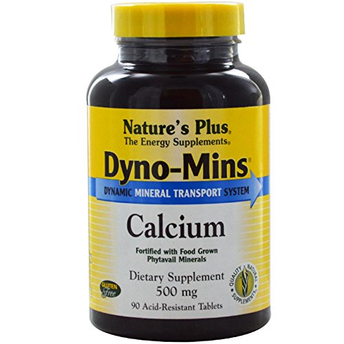 Dyno Mins Calcium 500mg Natures Plus product image