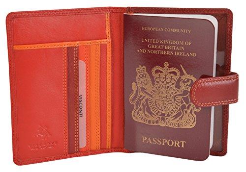 Visconti y Suave Pasaporte Cr Cuero vqvrfPF