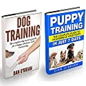 Dog Training + Puppy Training Box Set Audiobook by Dan O'Brian Narrated by Kevin Theis
