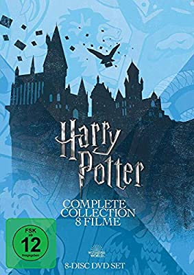 Harry Potter Complete Collection - 8 Filme Alemania DVD: Amazon.es ...