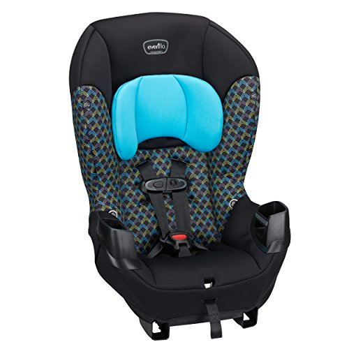 Evenflo Sonus Convertible Car Seat, Boomerang Blue
