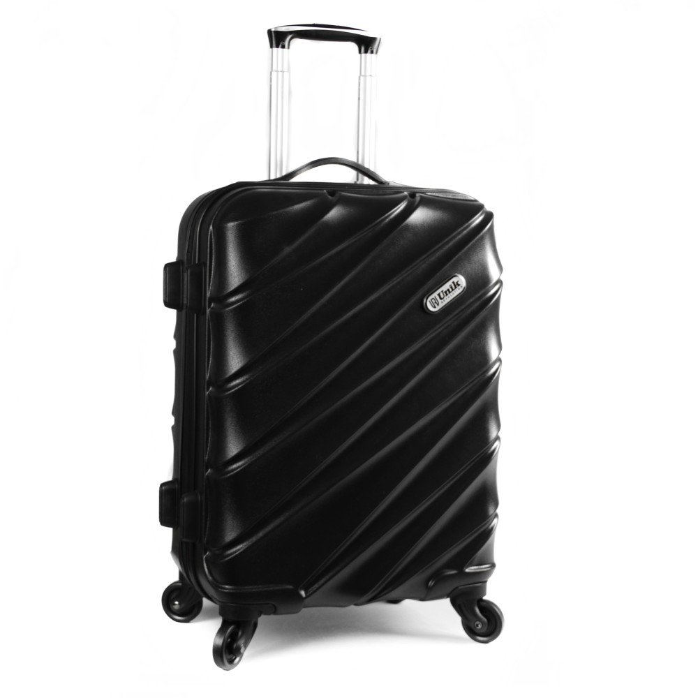 Trolley mediano Unik Revolution alpha color Negro: Amazon.es ...