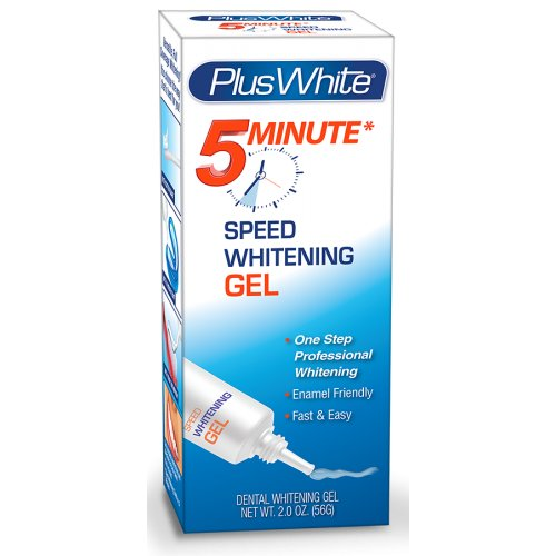 Plus White Premier 5 Minute Speed Whitening Gel 2 Oz (2 Pack)