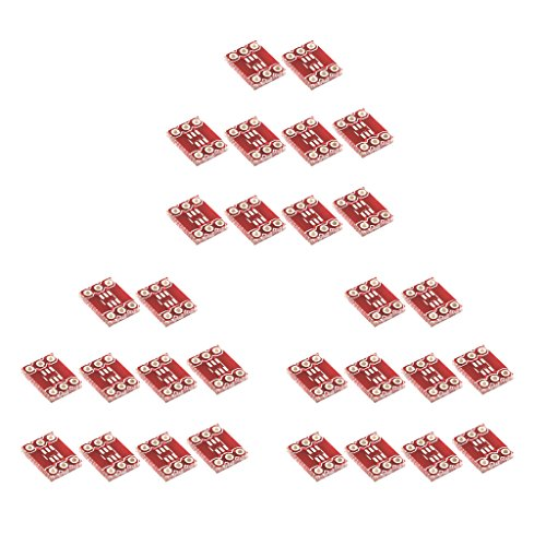 Dolity LOT of 30pcs SOT23 to DIP Adapter PCB Board SMD Converter Experiments Tool