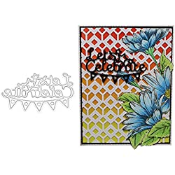 HIKO23 Metal Cutting Dies Creative Embossing Stencil Template Moulds for DIY Scrapbooking Album Paper Craft Card Making