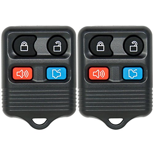 Keyless2Go Replacement Keyless Entry Remote Car Key Fob CWTWB1U331 (2 Pack) (2000 Ford Escort Keyless Remote compare prices)