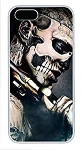 White Hard Plastic Protective Case Cover for iphone 4/4s iphone 4/4s 5G,Skull Case Shell for iphone 4/4s iphone 4/4s 5 Generation