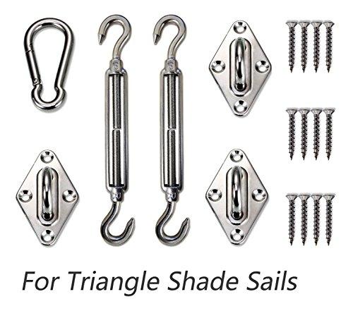 sun shade sail installation instructions