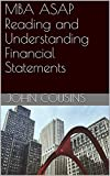 img - for MBA ASAP Reading and Understanding Financial Statements book / textbook / text book