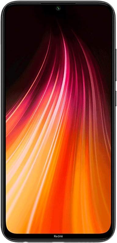 """Xiaomi Redmi Note 8 Smartphone,4GB 128GB Mobilephone,Pantalla Completa de 6.3 """",Procesador Snapdragon 665 Octa Core,4000 mAh,Quad Cámara(48MP + 8MP + 2MP + 2MP) Versión Global(Negro)"""