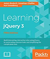 Learning jQuery 3, 5th Edition Front Cover
