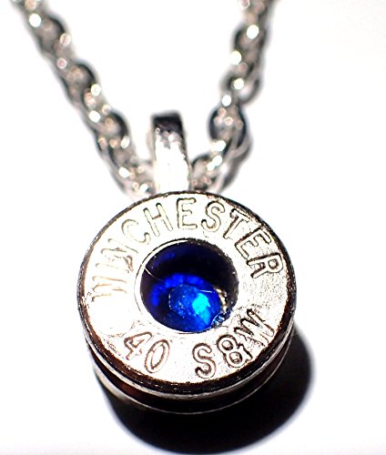 40 cal bullet necklace - 3