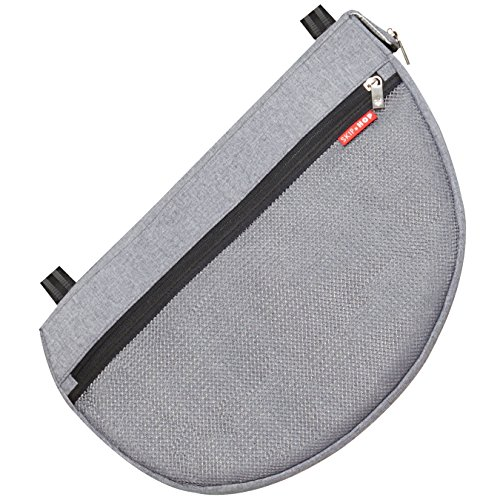 Skip Hop Grab & Go Stroller Saddlebag, Heather Grey