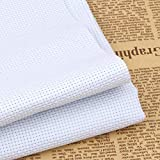 Aida Cloth 14 Count White Cross Stitch Fabric