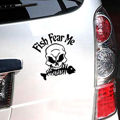 - Skull Skeleton Car Decal/Sticker Window Bumper Sticker Laptop Sticker, car Stickers and Decals for Women Kids Laptop Funny Men Family (Black)