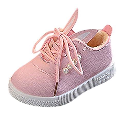 656aa7945 PLOT❤2019 Baby Kids Boy Girl Soft Sole Ears Sneaker Toddler Warm ...