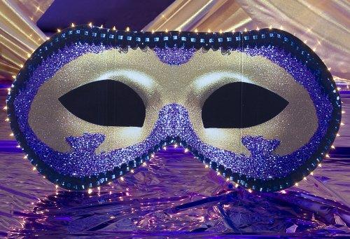 Shindigz Mysterious Mask Standee