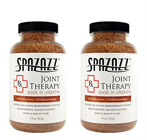 Spazazz Aromatherapy Spa and Bath Crystals -Therapy (2 Pack) (Joint Therapy - 2pk)