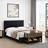 HOMECHO Queen Bed Frame, Modern Upholstered