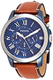 Fossil Men's Grant Stainless Steel Quartz Watch...