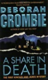 A Share in Death, Deborah Crombie, 0060534389