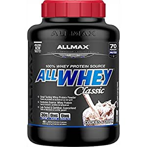 AllMax All Whey Classic Pure Whey Protein Blend - Cookies & Cream - 2.27kg 2.27kg